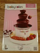 BabyCakes Chocolate Fountain Model # CF-1 New