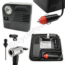 Portable 12V Car Pump Air Compressor Tire Inflator Airbeds football basket ball