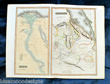 Egypt and Abyssinia - Thomson 1817 - Map Ethiopia Äthiopien Ägypten Kupferkarte