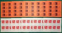 Erinnofilia - Lotto di 80 chiudilettera (ENAL, ciclismo), 1971/72 - Nuovi (**)