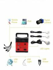 Portable Solar Generator with Panel,Included 3 Sets LED lights,Solar Power...