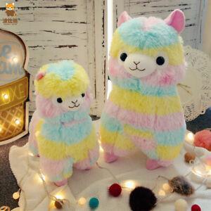 Rainbow Alpacasso Kids Gift Kawaii Alpaca Llama Alpacasso Soft Plush Toy