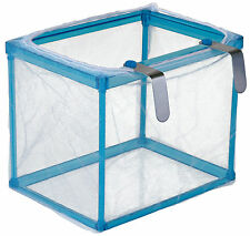 Aquarium Fine Net Breeding Trap for Molly Platy Guppy Fish Fry Safe Hatchery