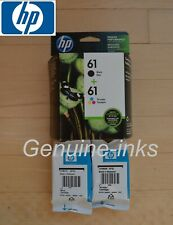 Retail Genuine HP 61 2 Ink Cartridge 1055 2050 2540 2542 2620 3050 3052A 3054A