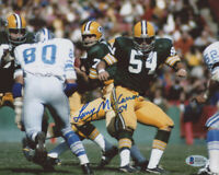 Larry McCarren Signed Packers 8x10 Photo (Beckett COA) NFL Free Shipping