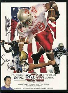 2006 Big 33 Program Autographed NFL PSU LBs Paul Posluszny Sean Lee