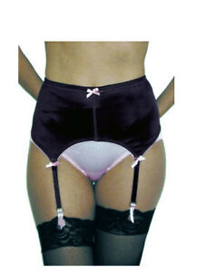 Rago Four Strap Soft Shaping Garter Belt & Stockings Style 72523 sizes to 6X