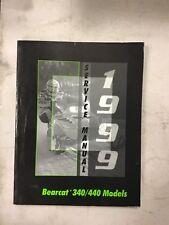 1999 Arctic Cat Snowmobile Service Bearcat 340/440 Models
