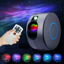 Rotation LED Starry Sky Projector Light Ocean Wave Star Galaxy Nebula Night Lamp