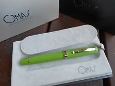 OMAS PARAGON COLORS HT FOUNTAIN PEN GREEN