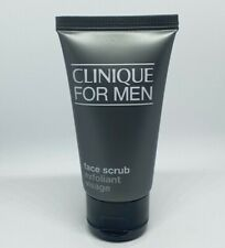 Clinique For Men Face Scrub 50ml Exfoliator Travel size NEW