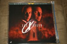 "The X-Files / widescreen - 12""  Laserdisc"
