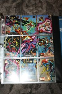 1994 Skybox Marvel Universe Series 5 COMPLETE SET 1-200 NM-MT PLUS POWER BLAST