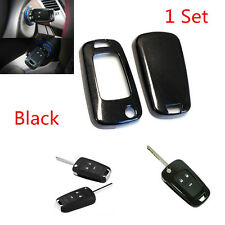 Black Glossy Smart Key Fob Shell Cover For Buick Chevrolet GMC 3 4 or 5 Buttons