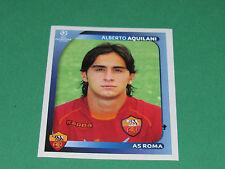 460 ALBERTO AQUILANI  AS ROMA UEFA PANINI FOOTBALL CHAMPIONS LEAGUE 2008 2009