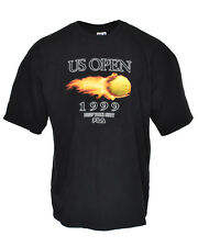 Vintage 1999 US Open New York City Tennis Tournament FILA Agassi Tee Shirt - XL