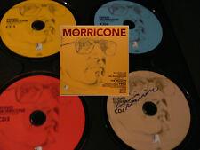 Ennio Morricone Ear Buch 4xCD orig. signiert autograph Signatur Autogramm signed