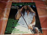 Kerrang 22 - Gillan interview, Saxon, Steve Miller, Manowar, Anvil, Eloy, Rage