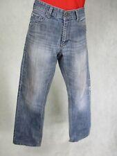 Blue Inc Uomo Jeans Denim Blu Taglia UK 32R