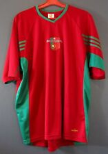 NATIONAL PORTUGAL TEAM EURO 2004 FOOTBALL SOCCER JERSEY SHIRT MENS SIZE L 5-/5