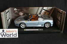 "Hot Wheels Elite Ferrari 360 Spider 1:18 ""the Italian Job"" (PJBB)"