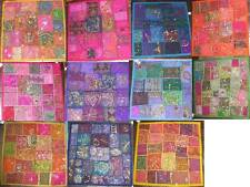 "Multiple 20""x20""(50cm x 50cm) bead sequin Patch Indian Cushion Covers,12 colours"