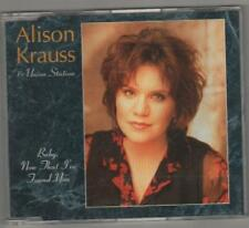 alison krauss - baby now that i've found you cd single