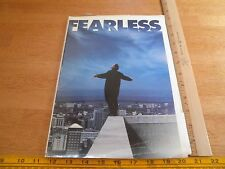 FEARLESS Jeff Bridges 1993 Press Kit with notes in folder clippings