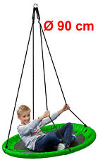 Nestschaukel outdoor 90 cm 150 kg grün blau pink Tellerschaukel Netzsschaukel