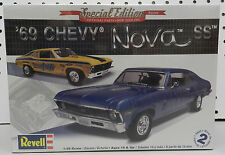 1969 69 CHEVY NOVA SS DRAG STOCK SUPER REVELL MODEL KIT