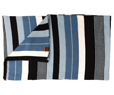 Rockport Men's Tate Striped Scarf White / Blue