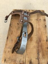 Buckingham Steel Leather Climbing Gaff Right Side Nos Vintage No Spike 3322R
