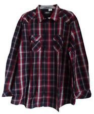 Karierte Herren-Freizeithemden & -Shirts Hemd-Stil in Blau