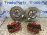 2014 VW GOLF GTI 2.0TSI FRONT BRAKE SET KIT DISCS PADS CALIPERS 312MM #16787