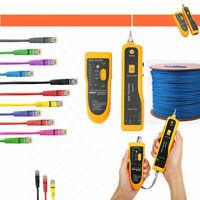 Network Cable Tester Cat5 Cat6 RJ45 RJ11 UTP STP Line Finder Diagnose Tone Tool