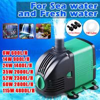 220V Submersible Water Pump Auarium Tank Fish Pond Adjustable Water Flow   z