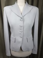 Emporio Armani Grey Trouser Suit Made in Italy UK10 EU38 IT42