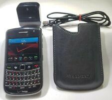 BlackBerry Bold 9650 Black Berry (VERIZON) Great Condition, CLEAN ESN, + Case
