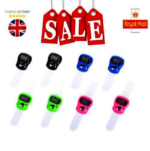 NEW Stitch Marker And Row Finger Counter LCD Electronic Digital Tally Counter K6