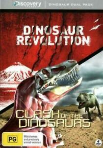 DUAL PACK: DINOSAUR REVOLUTION+Clash Of The Dinosaurs 4-DVD Set TV SERIES NEW R4