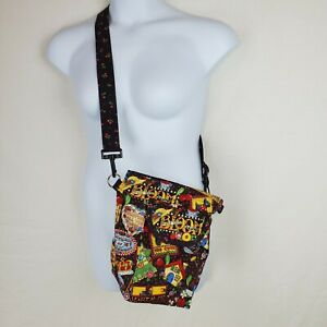 Hand Sewn Mary Engelbreit Mottos Reversible Cherries Purse Tote Crossbody