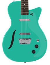 Danelectro D56VBAR-AQUA '56 Aqua Semi Hollow Vintage Baritone Guitar