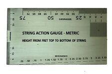 String Action Gauge - Metric