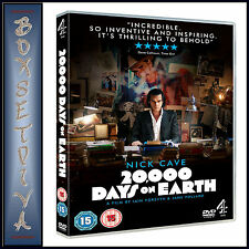 20000 DAYS ON EARTH -  Nick Cave **BRAND NEW DVD **