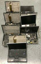 6 x Lot Ibm Lenovo Laptop Thinkpad T400 As Is Parts Repair
