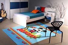 FR-11194-Tapis pour les Chambres d'Enfants Mickey Mouse - 120x80 cm - Farah1970