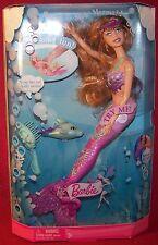 Mattel Splash & Style Mermaid Barbie Underwater Fun Moveable Legs Red Hair NRFB