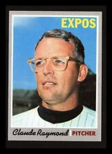 """1970 TOPPS """"CLAUDE RAYMOND"""" MONTREAL EXPOS #268 NM+ OR BETTER (COMBINED SHIP)"""