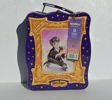 WARNER BROS 2000 HARRY POTTER 3D METAL LUNCH BOX/ CARRY CASE WITH ORIGINAL TAG