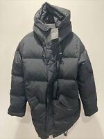 New Large Nike Air Jordan Wings Down Parka Winter Jacket Coat Black BQ4170-010